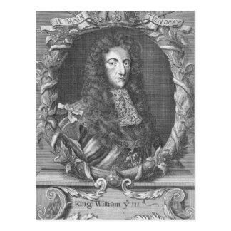 William III  Stadholder and King of England Postcard