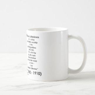 William James Moral Flabbiness Worship Success Basic White Mug