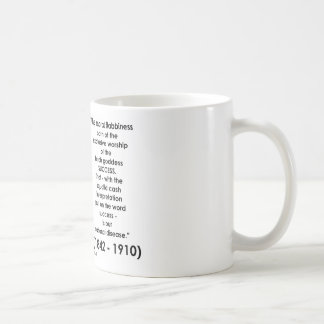William James Moral Flabbiness Worship Success Coffee Mug