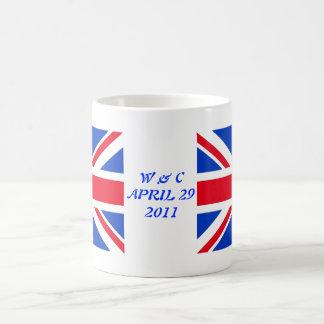 William & Kate Basic White Mug
