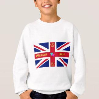 William & Kate British Flag Sweatshirt