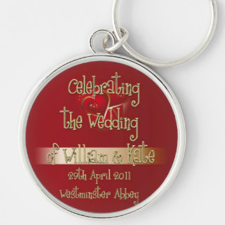 William & Kate Royal Wedding Collectibles Souvenir Key Chains