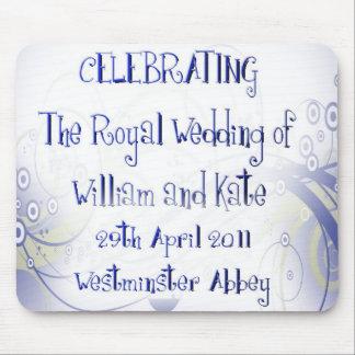 William Kate Royal Wedding Collectibles Souvenir Mousepads