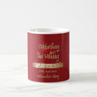 William & Kate Royal Wedding Collectibles Souvenir Coffee Mugs