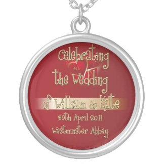 William & Kate Royal Wedding Collectibles Souvenir Custom Jewelry