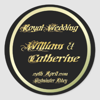 William & Kate Royal Wedding Collectibles Souvenir Sticker