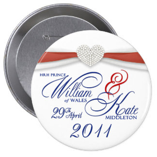 William & Kate - Royal Wedding Commemorative Pin