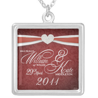William & Kate Royal Wedding Commemortive Necklace