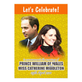 William Kate Royal Wedding Invitations