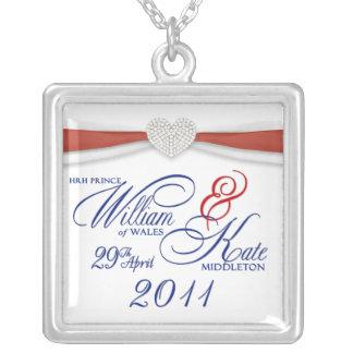 William & Kate Royal Wedding Keepsake Necklace