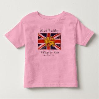 William & Kate Royal Wedding Kid's T-Shirt