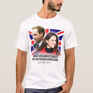 William & Kate Royal Wedding T-Shirt