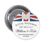 William & Kate Wedding Commemorative Keepsake Pin