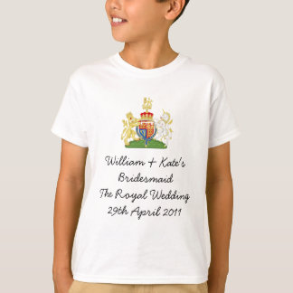William & Kate's Bridesmaid Tshirts