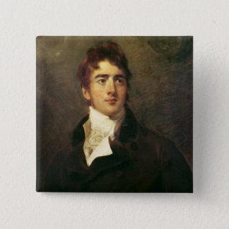 William Lamb, 2nd Viscount Melbourne 15 Cm Square Badge