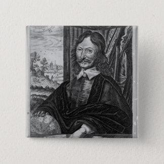 William Lilly 15 Cm Square Badge