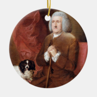 William Lowndes (1652-1724), Auditor of His Majest Christmas Ornament