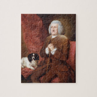 William Lowndes (1652-1724), Auditor of His Majest Jigsaw Puzzle