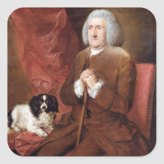 William Lowndes (1652-1724), Auditor of His Majest Square Sticker