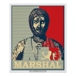 William Marshal Mirror of Chivalry Red & Blue Post Poster