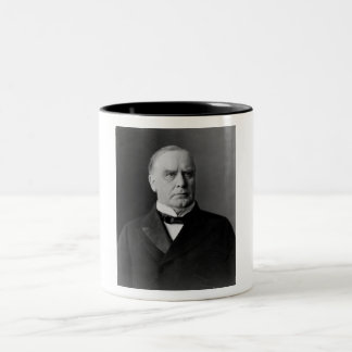 William McKinley Two-Tone Coffee Mug