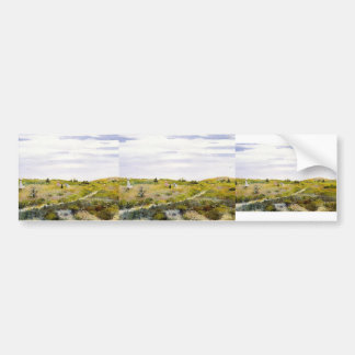 William Merritt Chase-Along the Path at Shinnecock Bumper Sticker