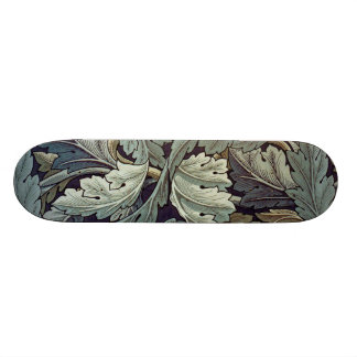William Morris Acanthus Floral Wallpaper Design 21.3 Cm Mini Skateboard Deck