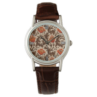 William Morris Anemone, Beige, Brown and Rust Watch
