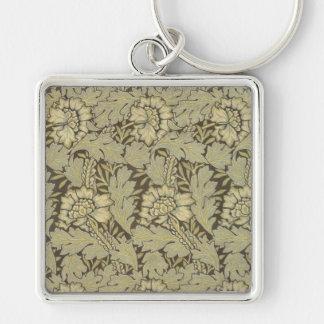 William Morris Anemone Pattern Key Chains