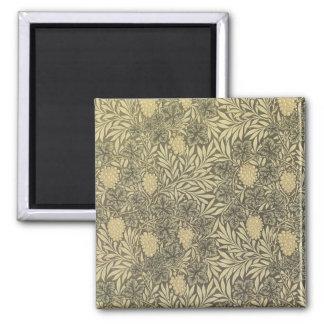 William Morris Antique Art Card 23 Square Magnet