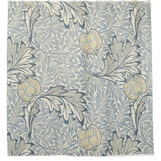 William Morris Apple Pattern Shower Curtain. Shower Curtain