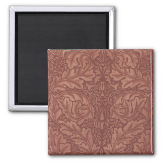 William Morris Art Greeting Card 19 Square Magnet
