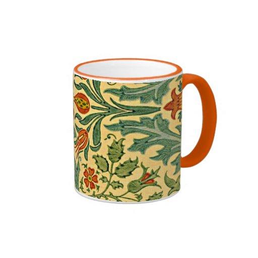 William Morris - Autumn Flower pattern Coffee Mugs