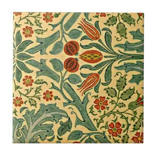 William Morris - Autumn Flower pattern Small Square