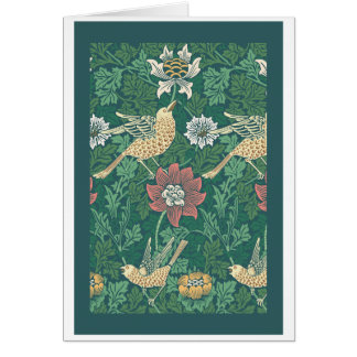 William Morris 'Bird and Anemone Chintz' Cards