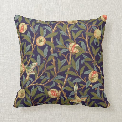 William Morris Bird And Pomegranate Cushion