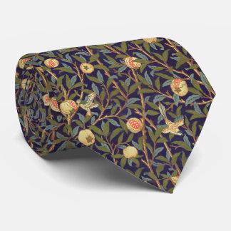 William Morris Bird And Pomegranate Vintage Art Tie