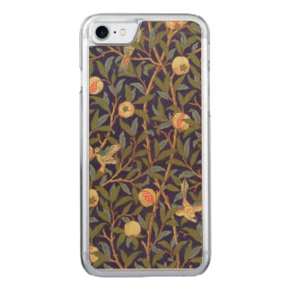William Morris Bird And Pomegranate Vintage Floral Carved iPhone 8/7 Case