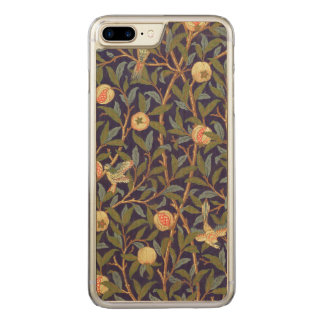 William Morris Bird And Pomegranate Vintage Floral Carved iPhone 8 Plus/7 Plus Case