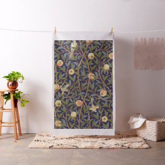 William Morris Bird And Pomegranate Vintage Floral Fabric