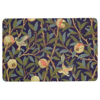 William Morris Bird And Pomegranate Vintage Floral Floor Mat