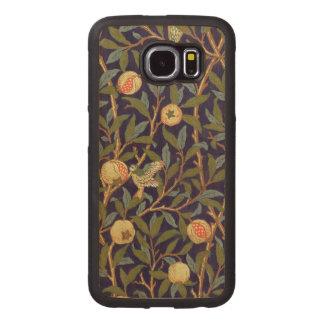 William Morris Bird And Pomegranate Vintage Floral Wood Phone Case