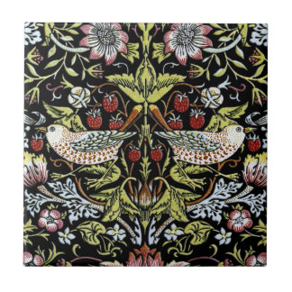 William Morris birds and flowers 2 Small Square Tile