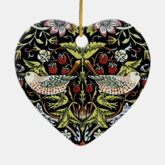 William Morris birds and flowers 2 updated Christmas Ornament