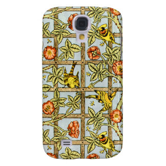 William Morris birds and flowers pattern Galaxy S4 Case