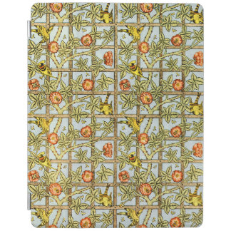 William Morris birds and flowers pattern iPad Cover