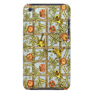 William Morris birds and flowers pattern iPod Touch Cover