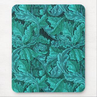 William Morris Blue Leaf Mouse Pad