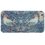 William Morris Blue Tapestry Birds Floral Vintage