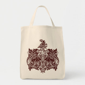William Morris Brer Rabbit detail Shopper